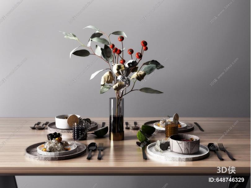 现代餐具碗具组合