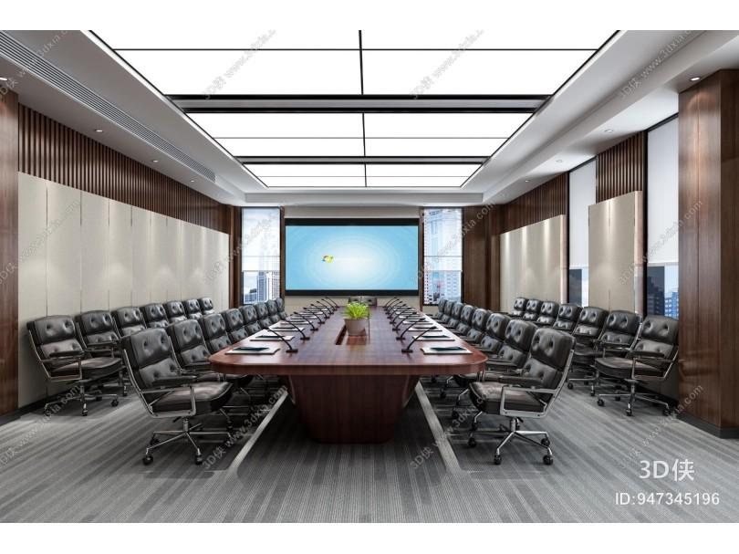 现代研发楼会议室