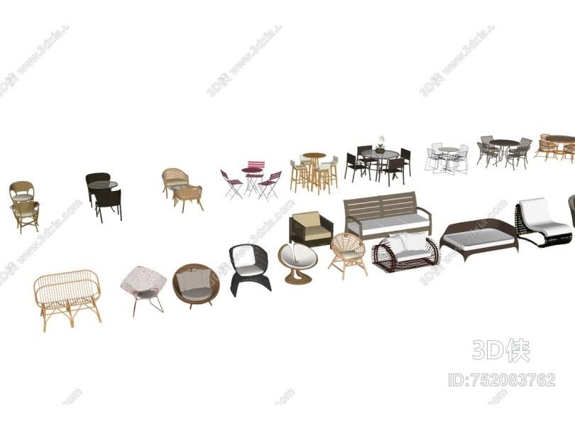 新中式户外组合沙发桌椅座椅大全