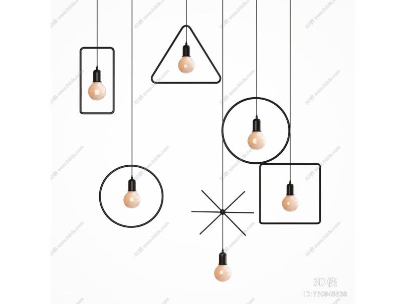 工业风吊灯