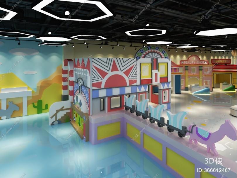 现代游乐场 淘气堡 海盗船