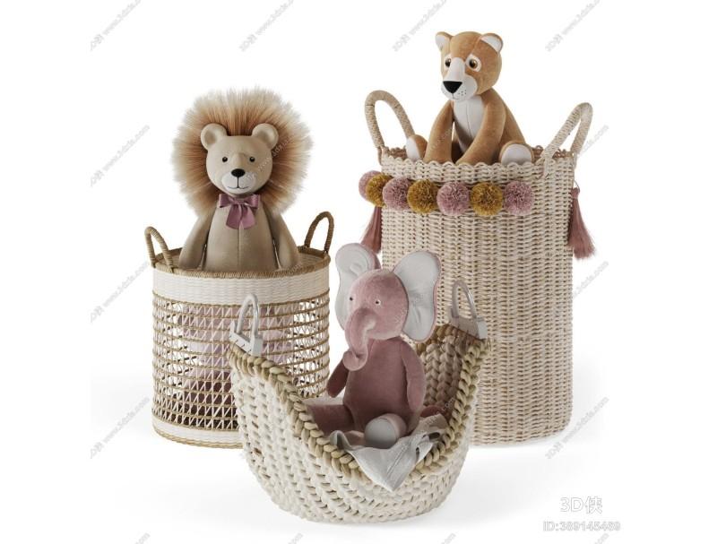现代儿童毛绒玩具