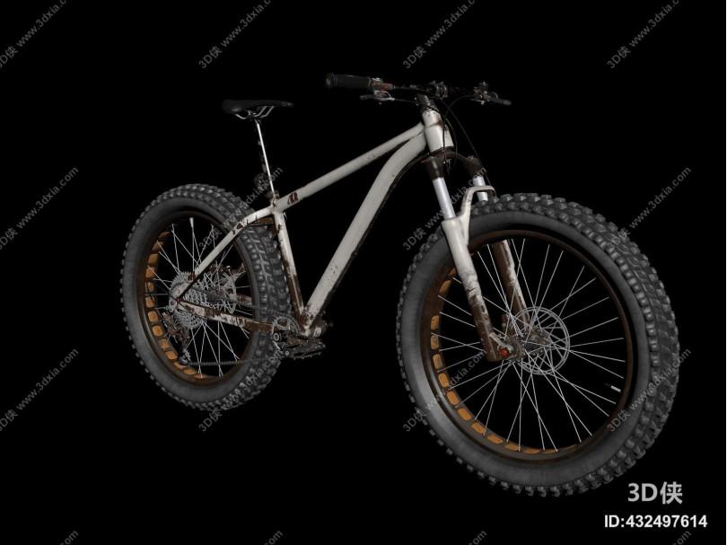 工业风山地自行车