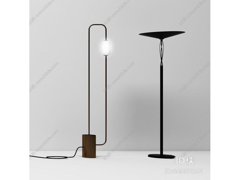 現代落地燈