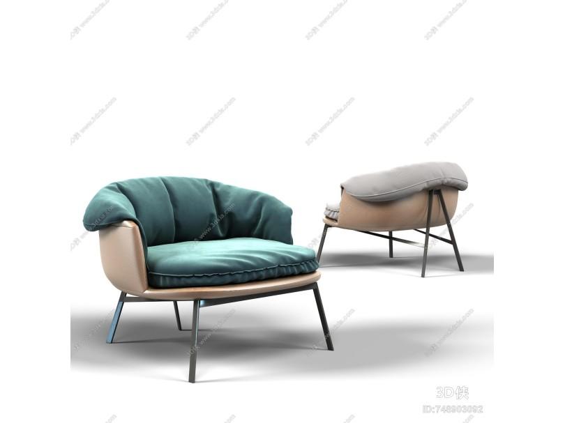 北欧风格单椅
