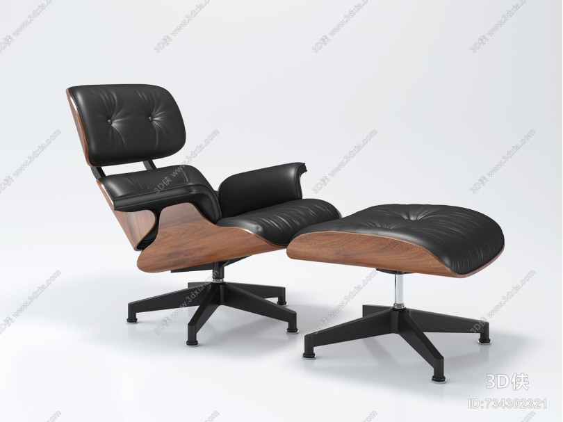 伊姆斯Eames躺椅