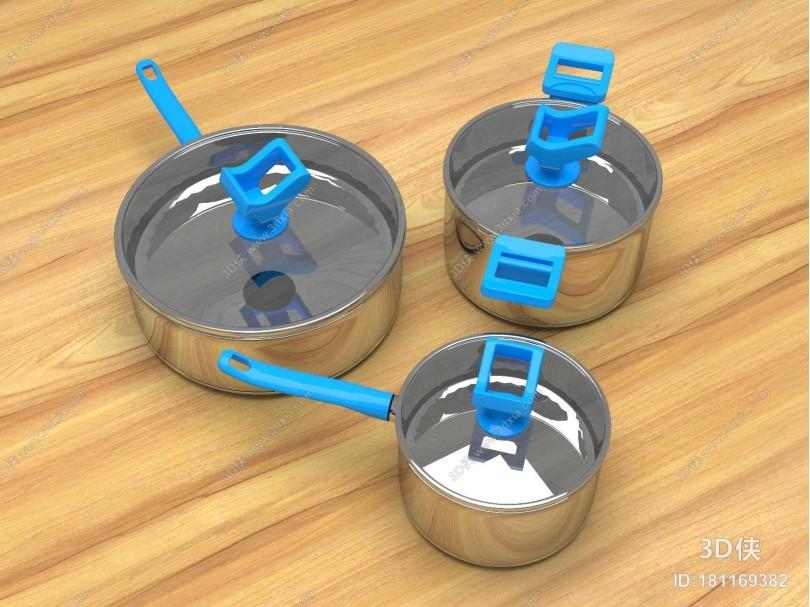 现代锅具 汤锅