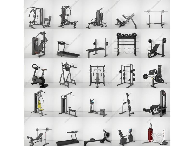 现代健身器 运动器材