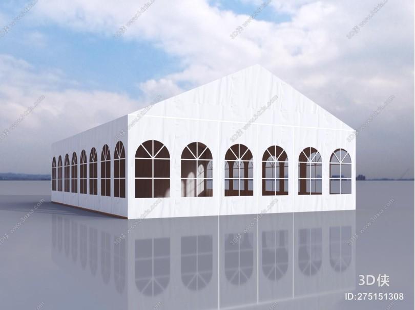 现代布艺篷房