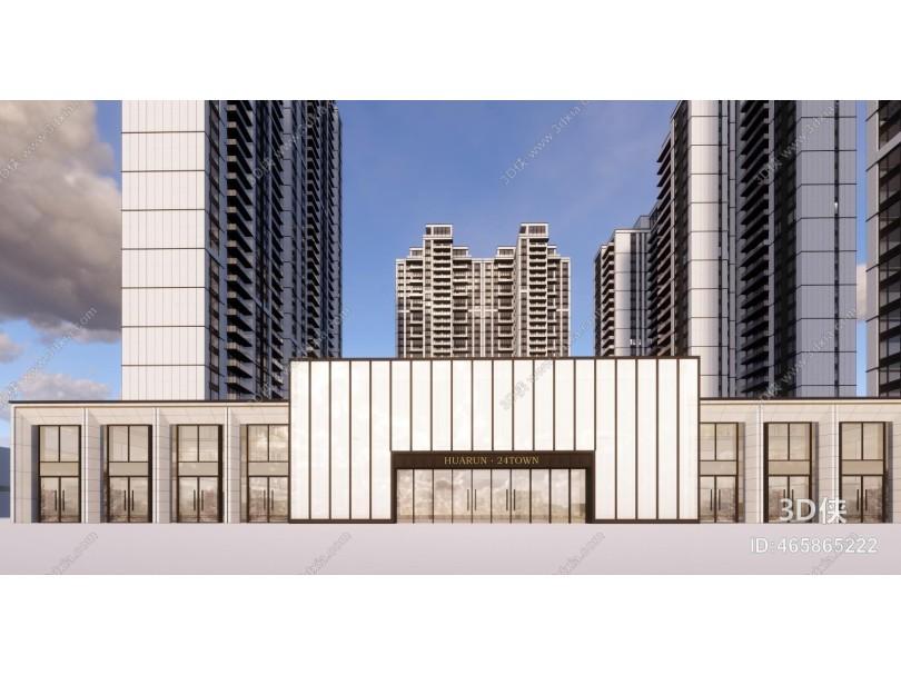 现代商业 高层住宅