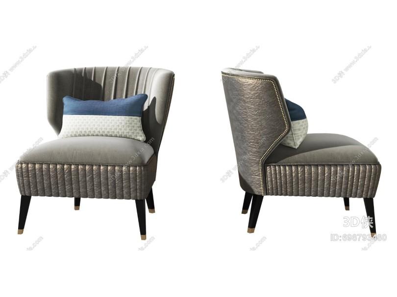 现代单人沙发