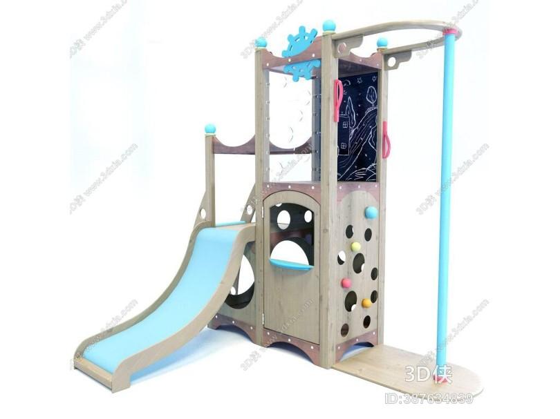 现代儿童滑梯