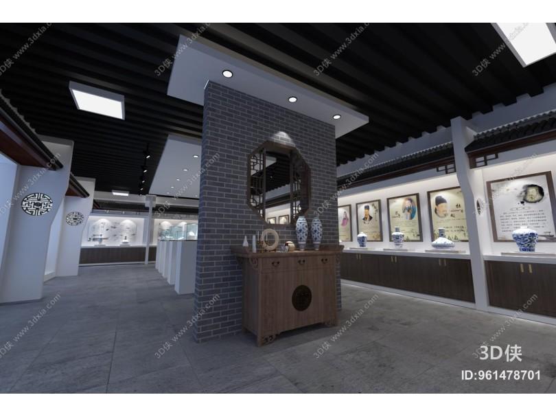 新中式陶瓷展厅