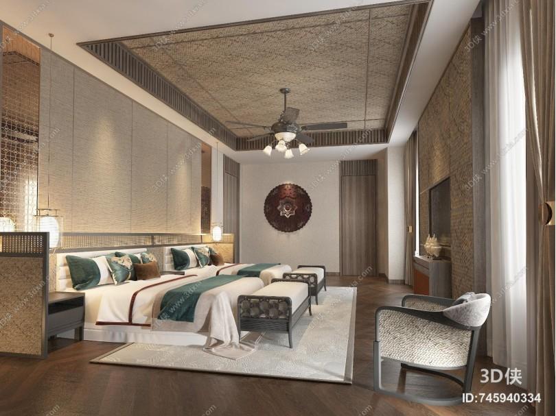 东南亚酒店客房