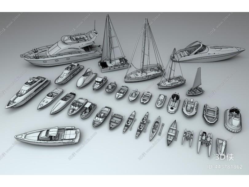 游艇 皮划艇 小船 小舟 舟 小船 手划艇 帆船 快艇 摩托艇