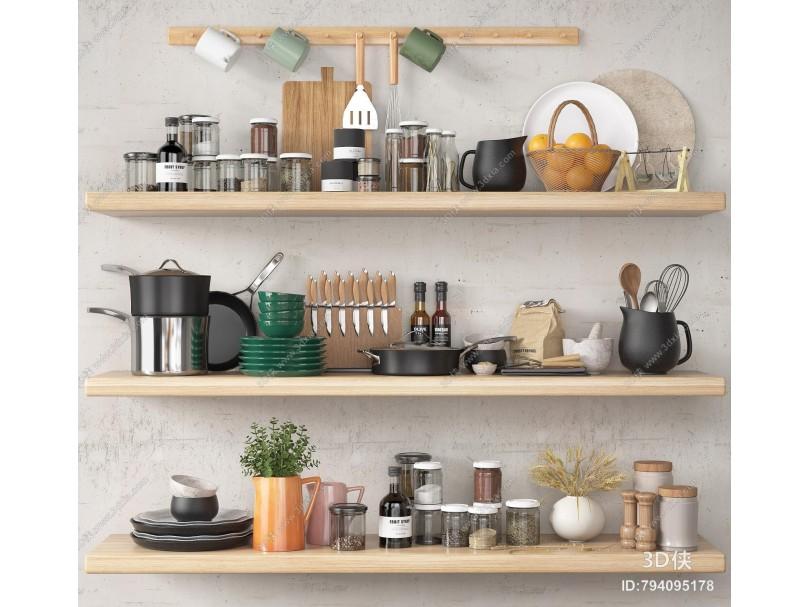 现代厨具 餐具