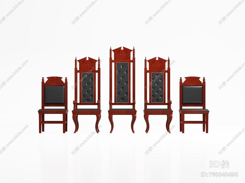 美式法庭座椅 法院座椅 法官椅