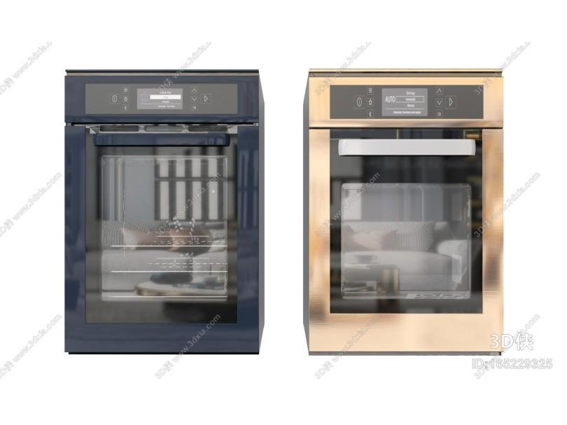 现代烤箱 微波炉组合