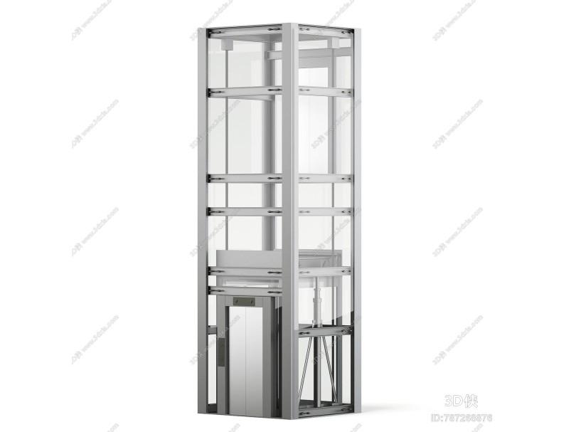 现代电梯 观光梯