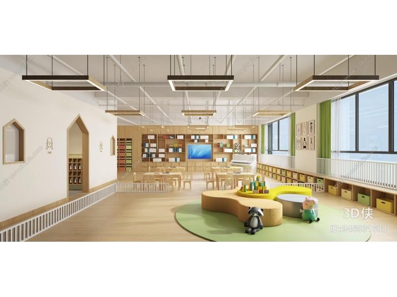 現代幼兒園教室