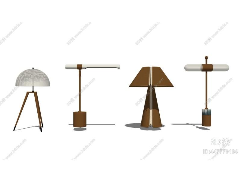 现代台灯组合1