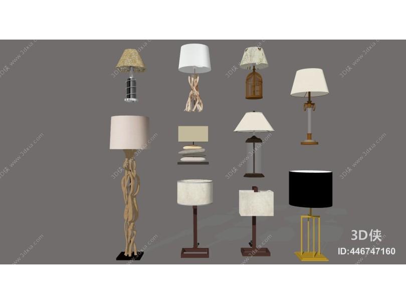 现代台灯合集