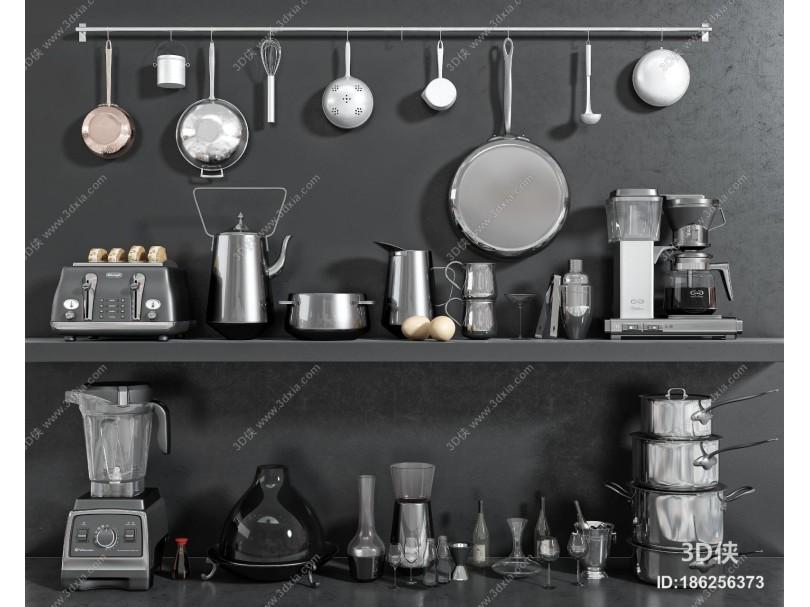 现代厨房用具