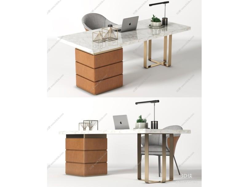 现代书桌椅 工作位