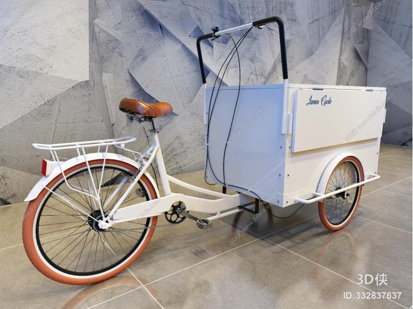 现代三轮售货车