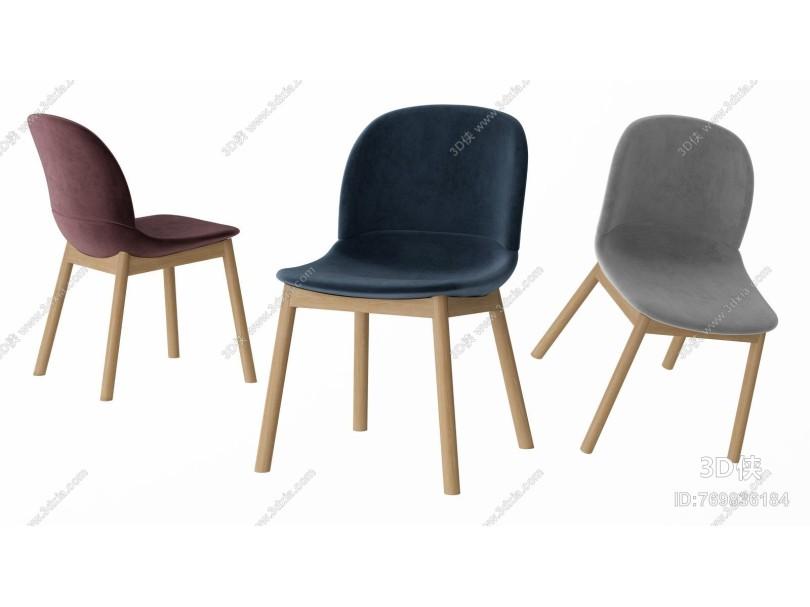 北欧餐椅 单椅 书桌椅