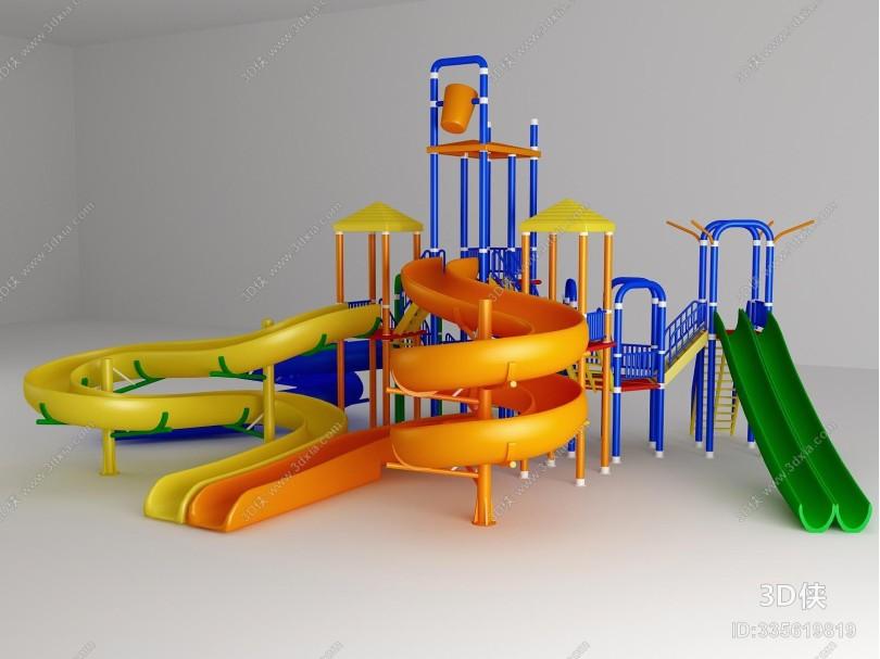 现代户外游乐设施
