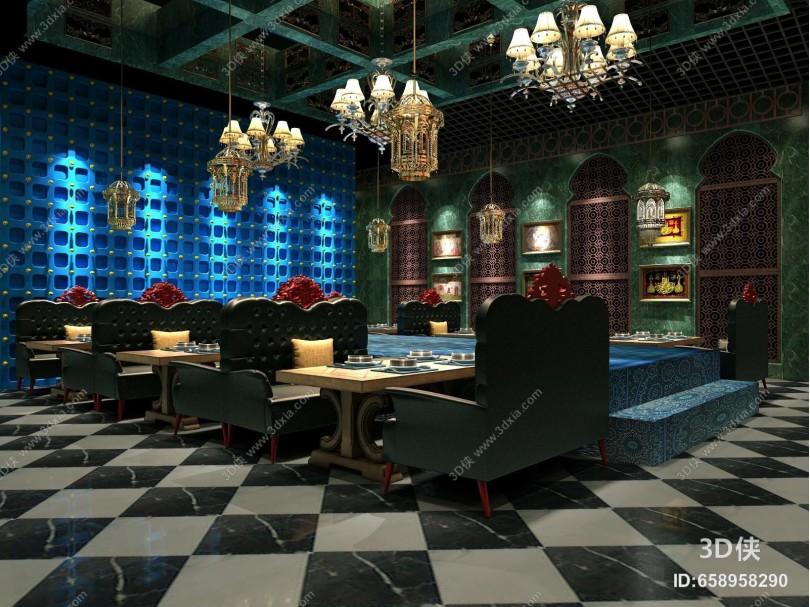 东南亚风格餐厅餐饮