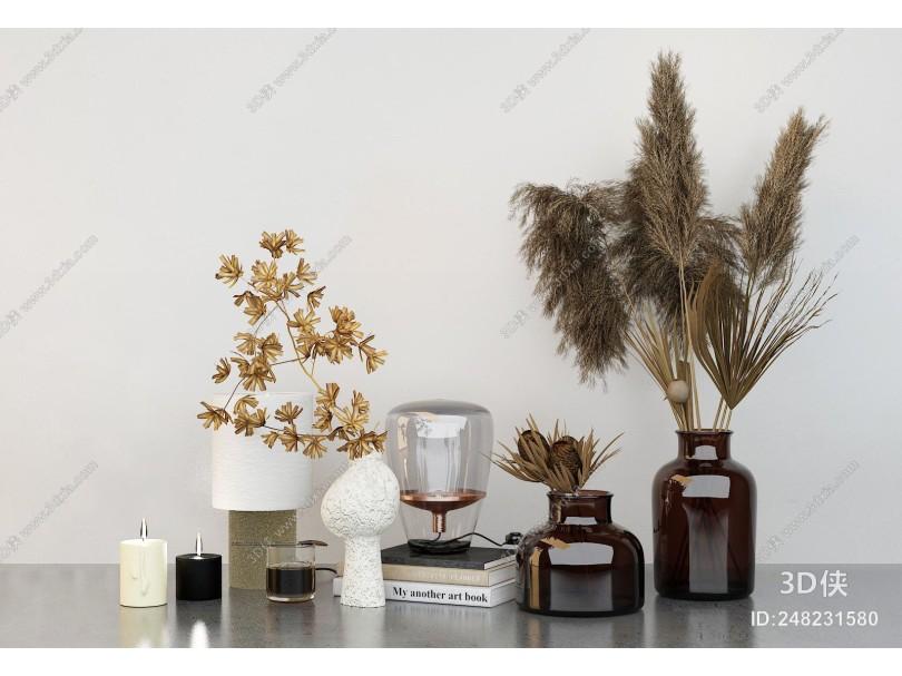 现代陈设 花瓶摆件
