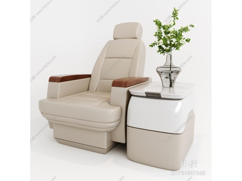 现代航空休闲座椅