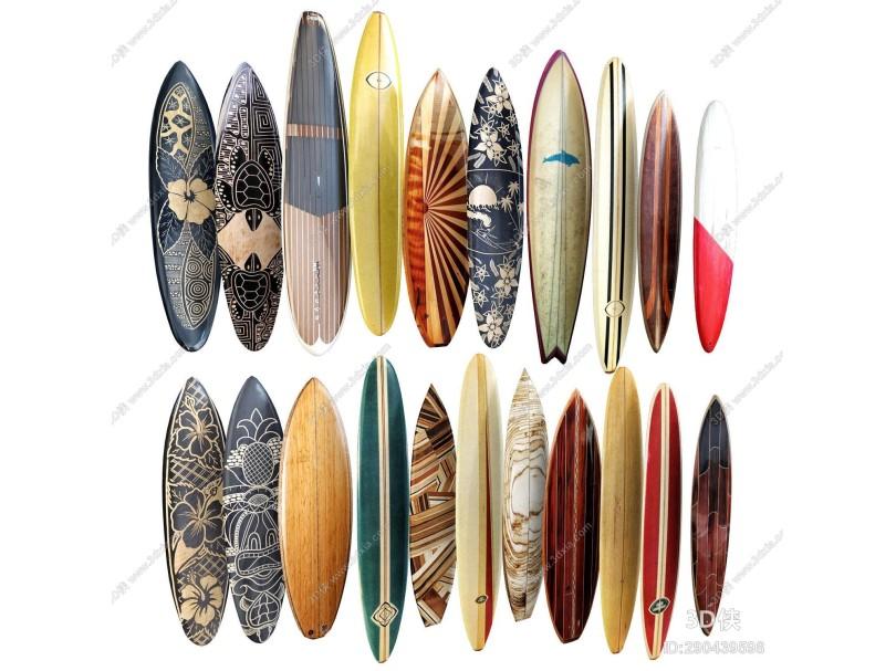 现代冲浪板