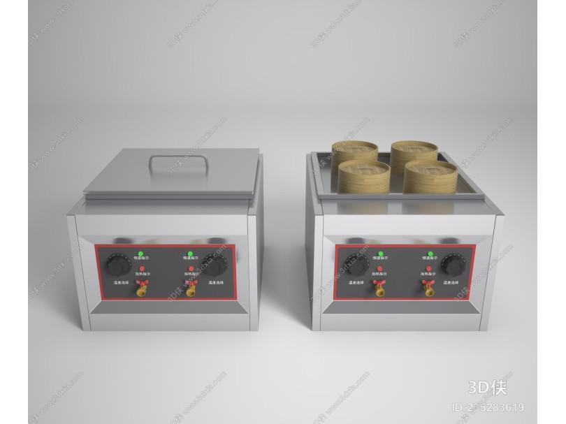 现代蒸包炉