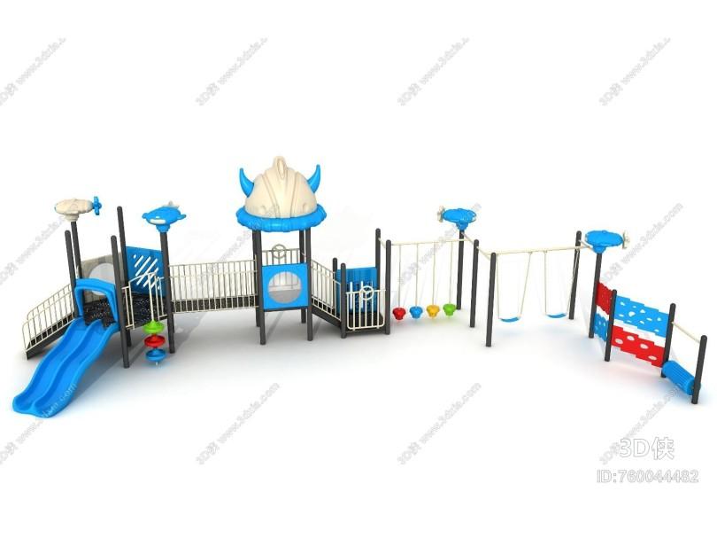 现代滑梯 游乐设备 儿童蹦床 爬网 玩具