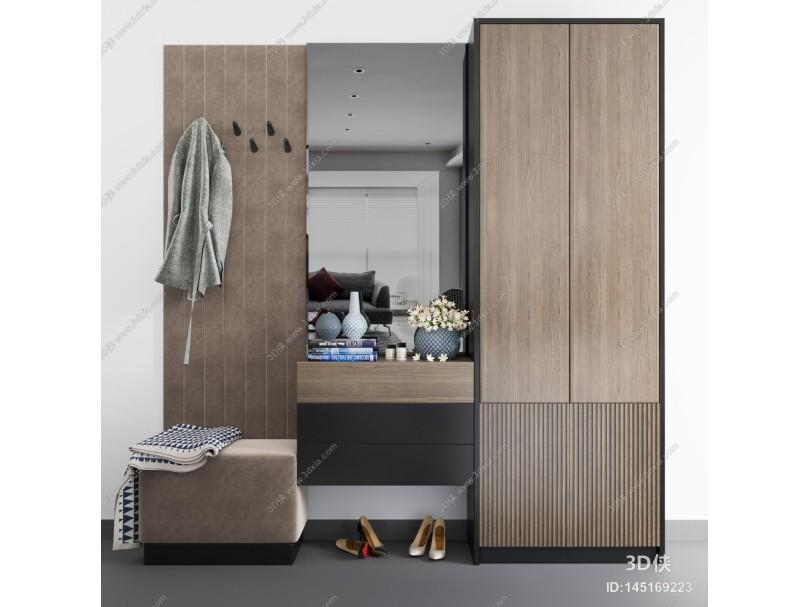現代簡約鞋柜 玄關柜