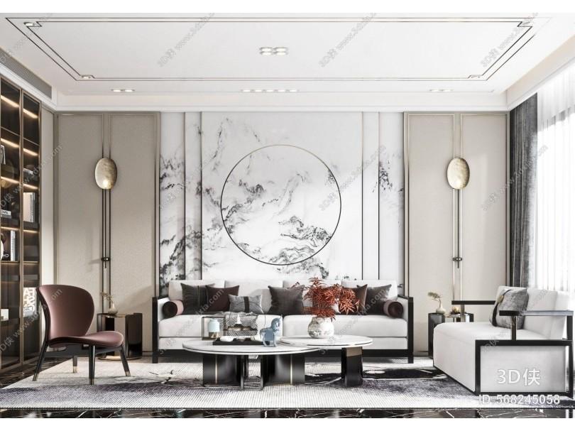 新中式轻奢客厅