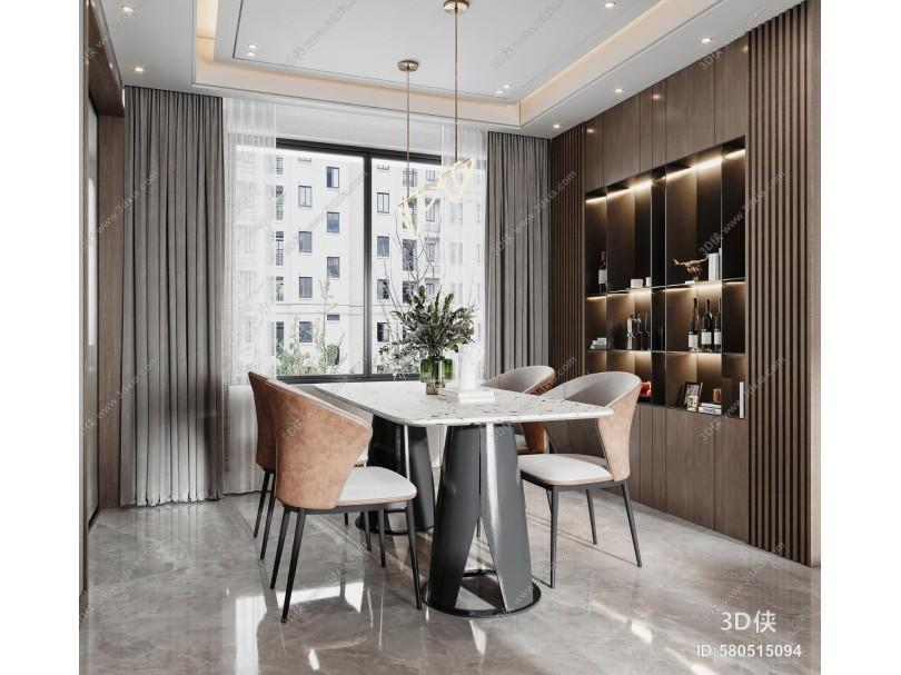 现代轻奢客餐厅