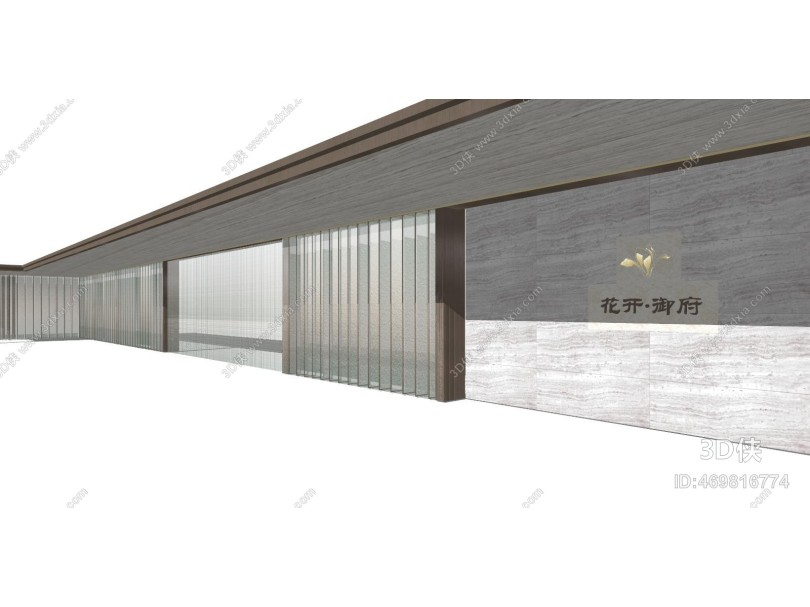现代风格廊架