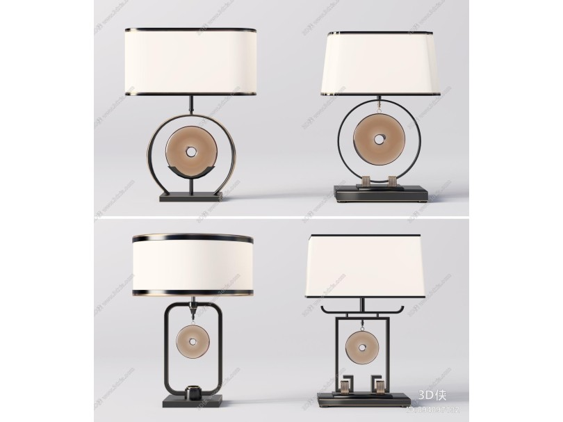 新中式臺燈