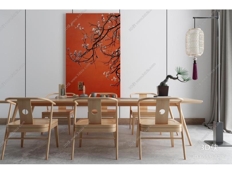 新中式茶室 茶楼 洽谈区