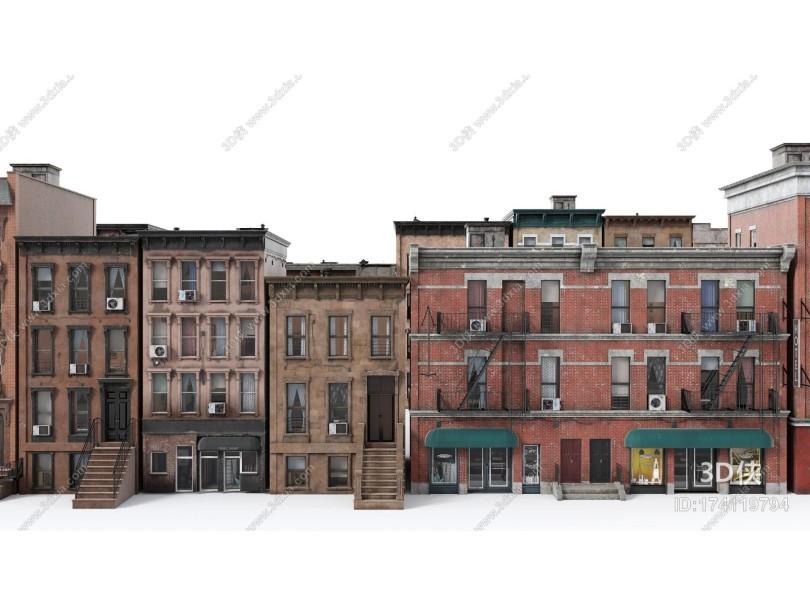 美式建筑群