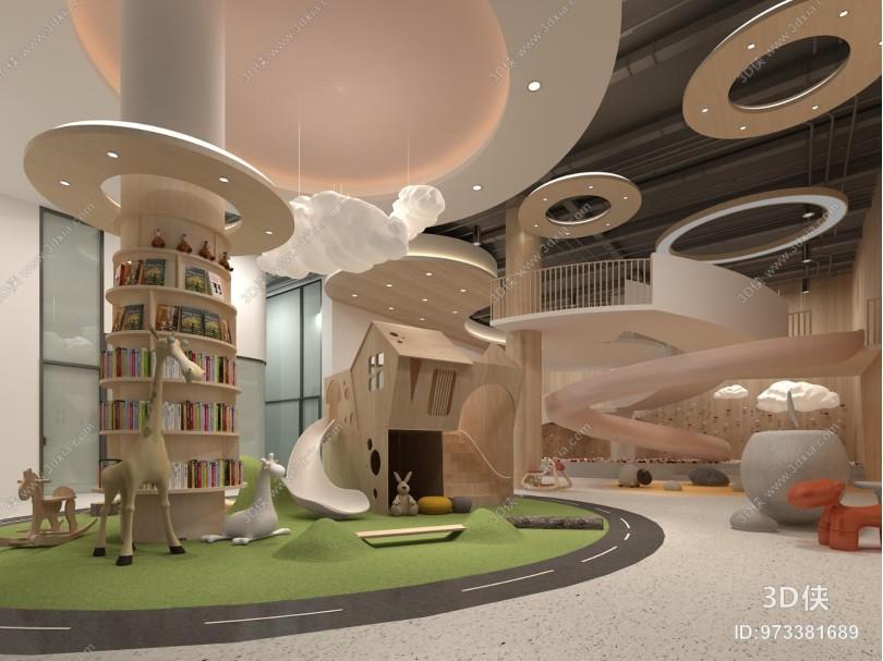 现代教室 幼儿园