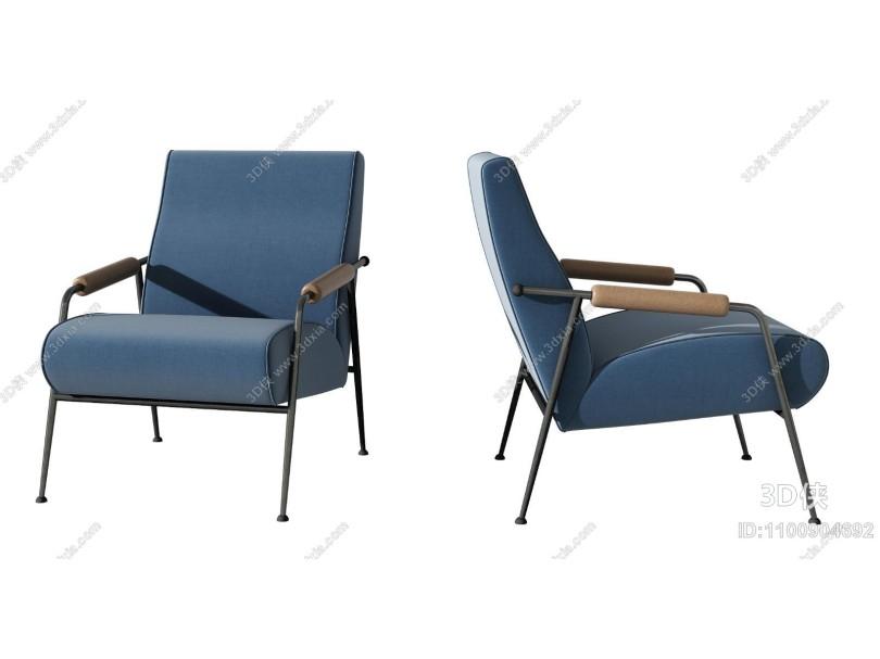 现代单人休闲沙发