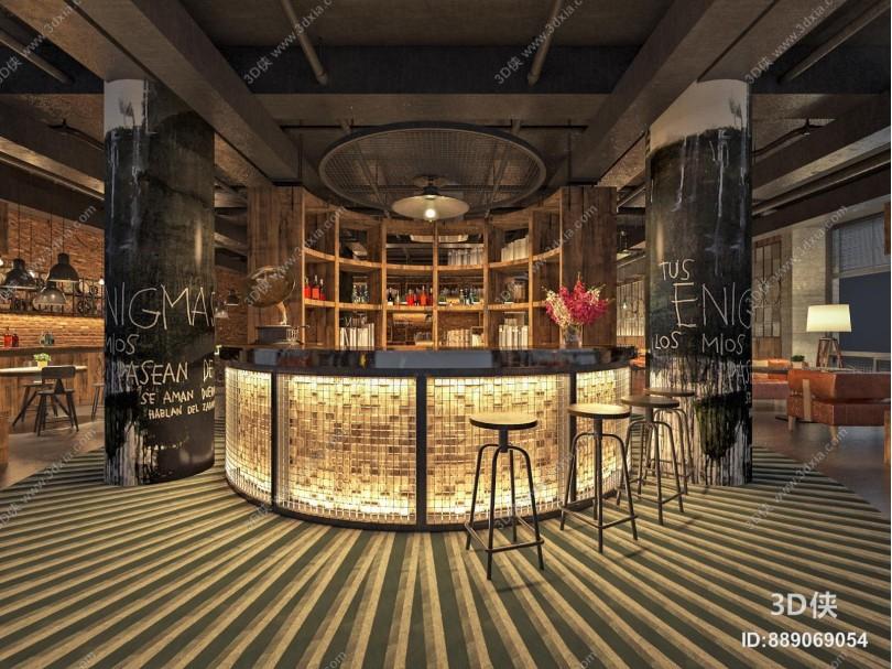 工业风酒吧