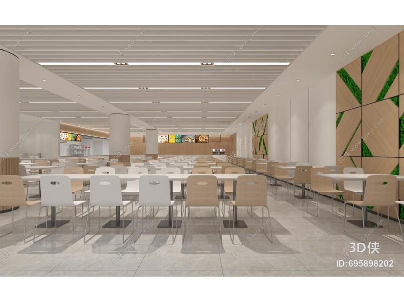 现代餐厅 餐台 餐桌椅