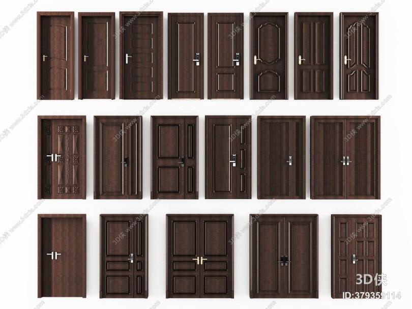 现代密码防盗门 入户门 平开门