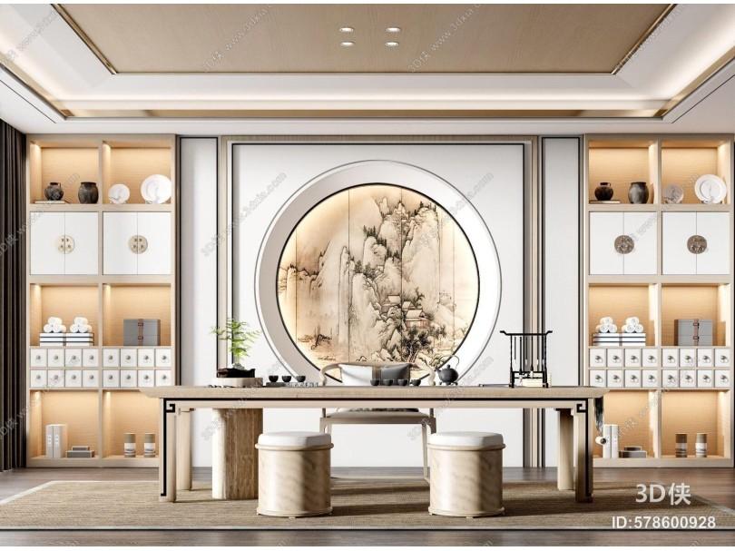 新中式茶室 功夫茶